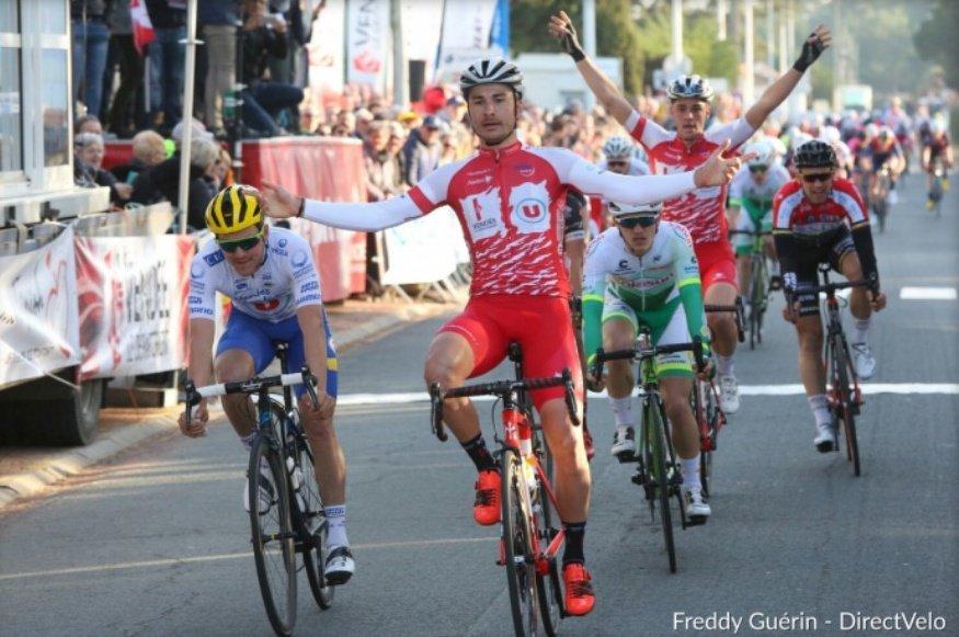 🇫🇷 @cocpv stage 1   1 🇫🇷 @ClementOrceau 2 🇫🇷 Yannis Yssaad 3 🇫🇷 @jason_tesson 4 🇫🇷 @theomenant 5 🇫🇷 Louis Lapierre 6 🇧🇪 Maxime Farazijn 7 🇫🇷 @Sky3uR 8 🇫🇷 Nicolas Primas 9 🇫🇷 @Kev1perret 10 🇫🇷 @AxelFlet  @uc_nantes_atl #cycling #cyclisme #ciclismo