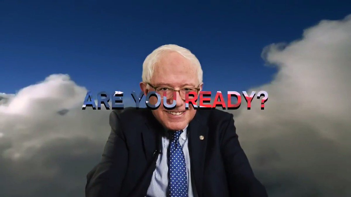 We made a new video in celebration of #PresidentsDay and we're obviously eagerly anticipating @BernieSanders to announce that he will #RunBernieRun! @People4Bernie are with you all the way.