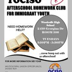 Image for the Tweet beginning: Immigrant youth @WoodroffeHS? Need help