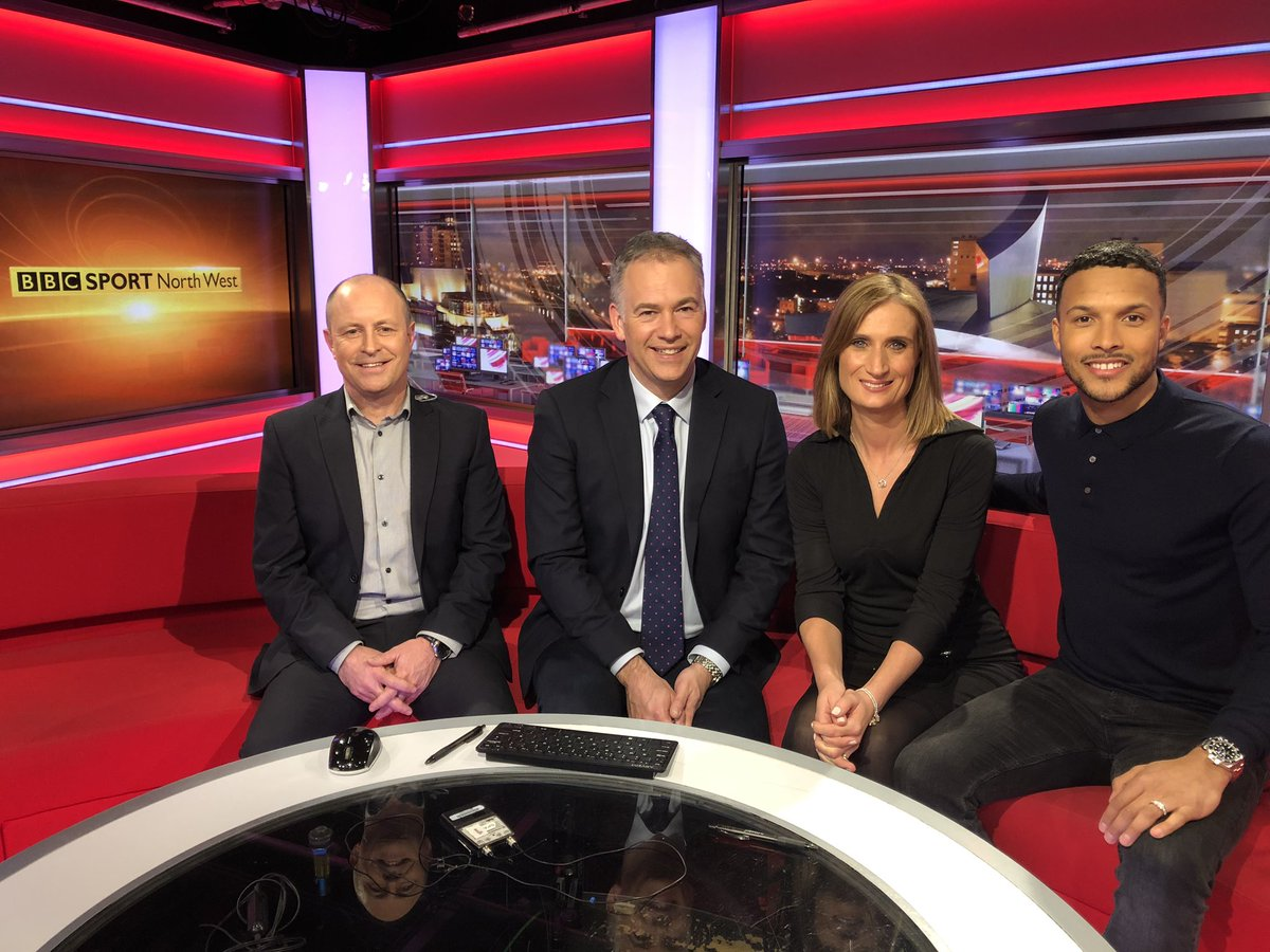 Thanks for having me on the @bbcsport @BBCNWT show tonight always a pleasure. 📺🎥⚽️💯