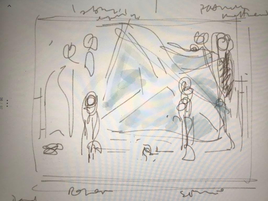 Sketch for 'the rowan'
