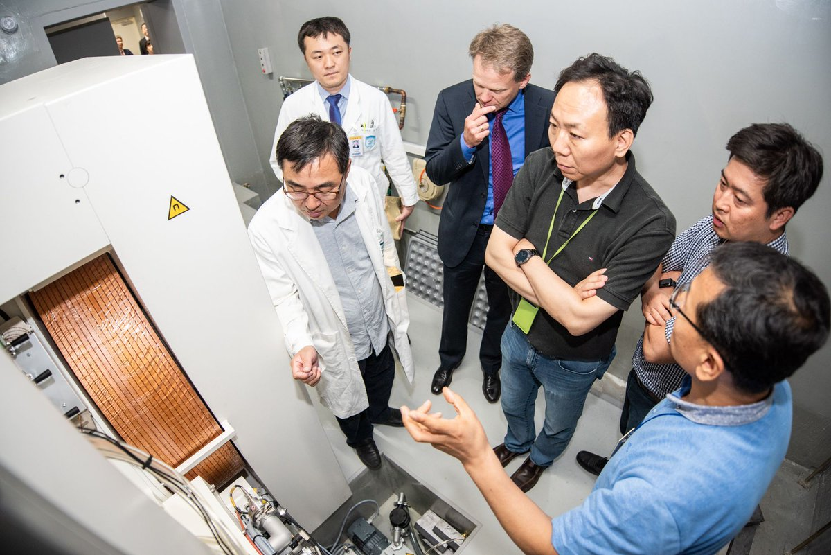 The Ghostbusters use #particleaccelerators to lasso ghosts; this Korean research institute is using them to better treat #cancer #NucMed http://bit.ly/2DN4mEE