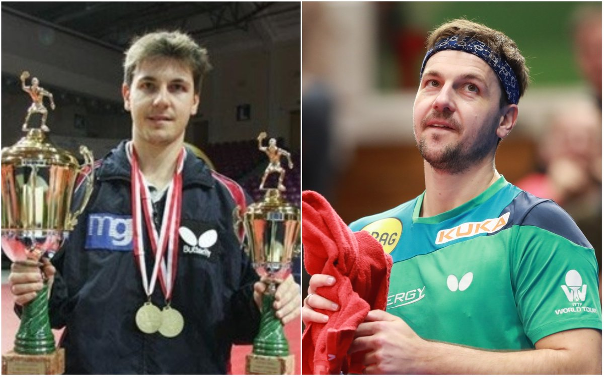 Timo Boll #10yearschallenge or little bit more? 😃👏👏🏓🇩🇪 #TableTennis #tb