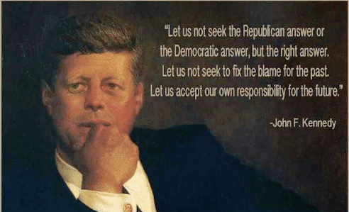 President #JohnFKennedy is featured in #EPluribusOne book. He is the nation's 35th President. And is one of only four to be assassinated while in office. He was seen as a more moderate Democrat President. A WWII hero, he was known for his soaring speeches & words. #PresidentsDay