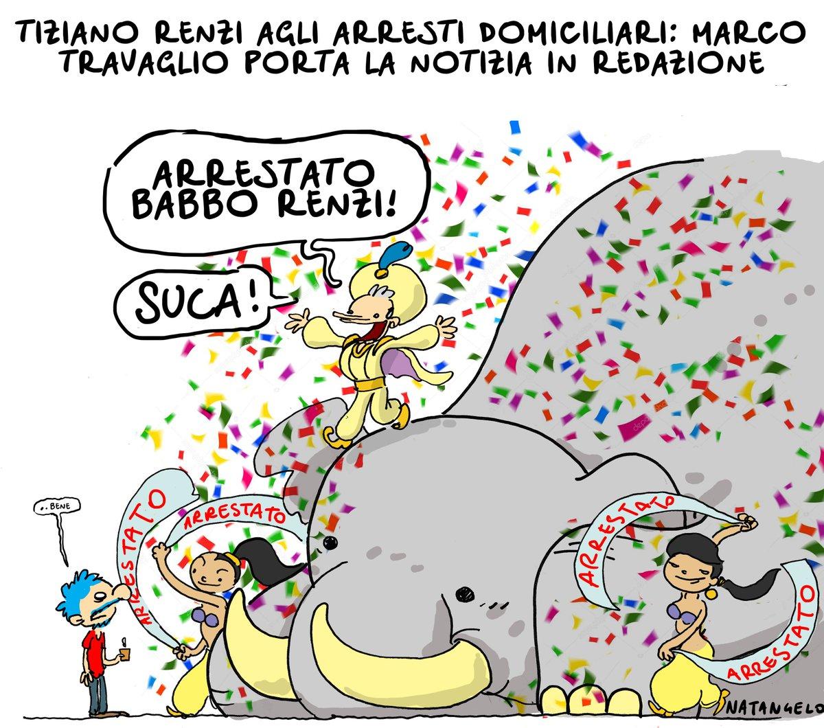 Tiziano Renzi ai domiciliari  #tizianorenzi #arrestidomiciliari #travaglio #natangelo