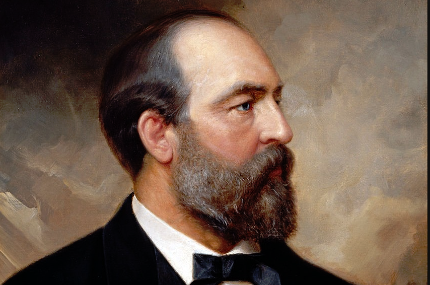 President James Garfield, our nation's 20th President was one of four American Presidents to be assassinated. He was succeeded by President Chester A. Arthur, who served as his Vice President. #PresidentsDay #EpluribusOne