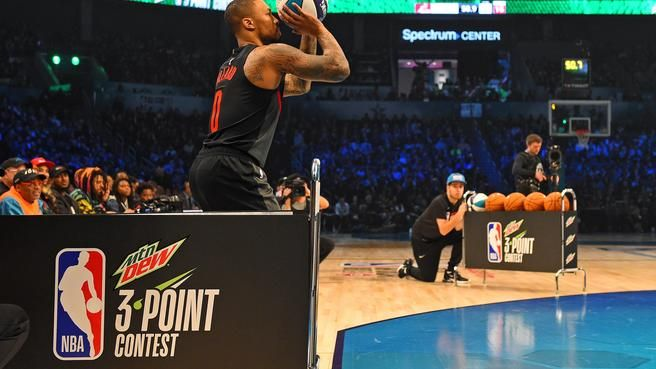ICYMI - Highlights from Damian Lillard's 4th All-Star Game  ---> https://t.co/jsbiOMm2Tn #RipCity