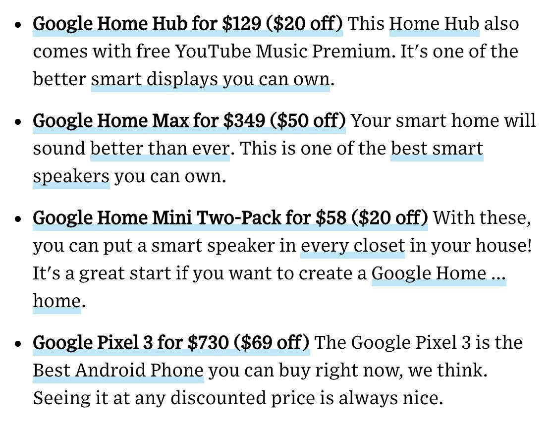 It's President's Day weekend which means there are a LOT of deals out there. We've taken the stress out of looking and rounded up more than two dozen of our favorite deals from around the web. From Apple to Amazon to Google (see below!) find them here:  https://t.co/MkzKHMxPTE