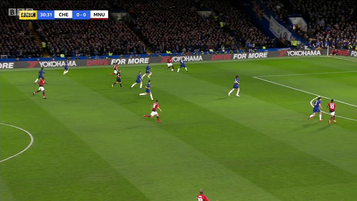 Manchester United strike first!   Live @BBCOne   https://t.co/G4y2F9HxES #bbcfacup #facup #CHEMUN