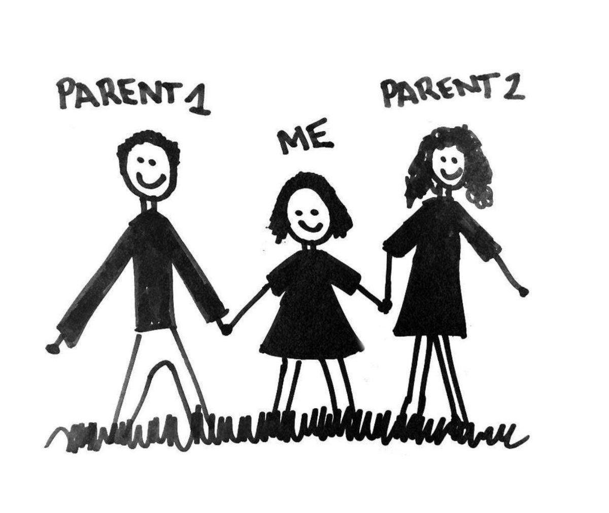 """#فرنسا تدرس مقترحا لتعديل مناهج النظام التعليمي لإزالة اسمي """"اب"""" و """"ام""""، واستبدالهما ب """"والد 1"""" ووالد """"2"""" لمنع التمييز بين الجنسين  تبقى المعضلة لديهم في الاتفاق على من سيكون رقم 1  ومن سيكون رقم 2"""