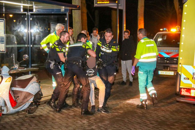 Consternatie door dronken man op Harreweg https://t.co/yevxWCYmHj https://t.co/0evNSkdGLi