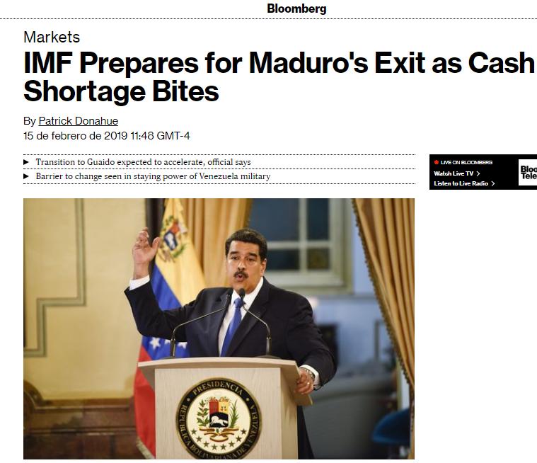 Maduro: Si algo me pasa, ¡retomen el poder y hagan una revolución más radical! - Página 8 DztwC39WsAADbz-