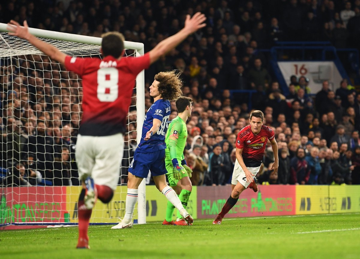 Chelsea 0 Manchester United 2: Solskjaer's men bounce back to reach FA Cup quarter-finals
