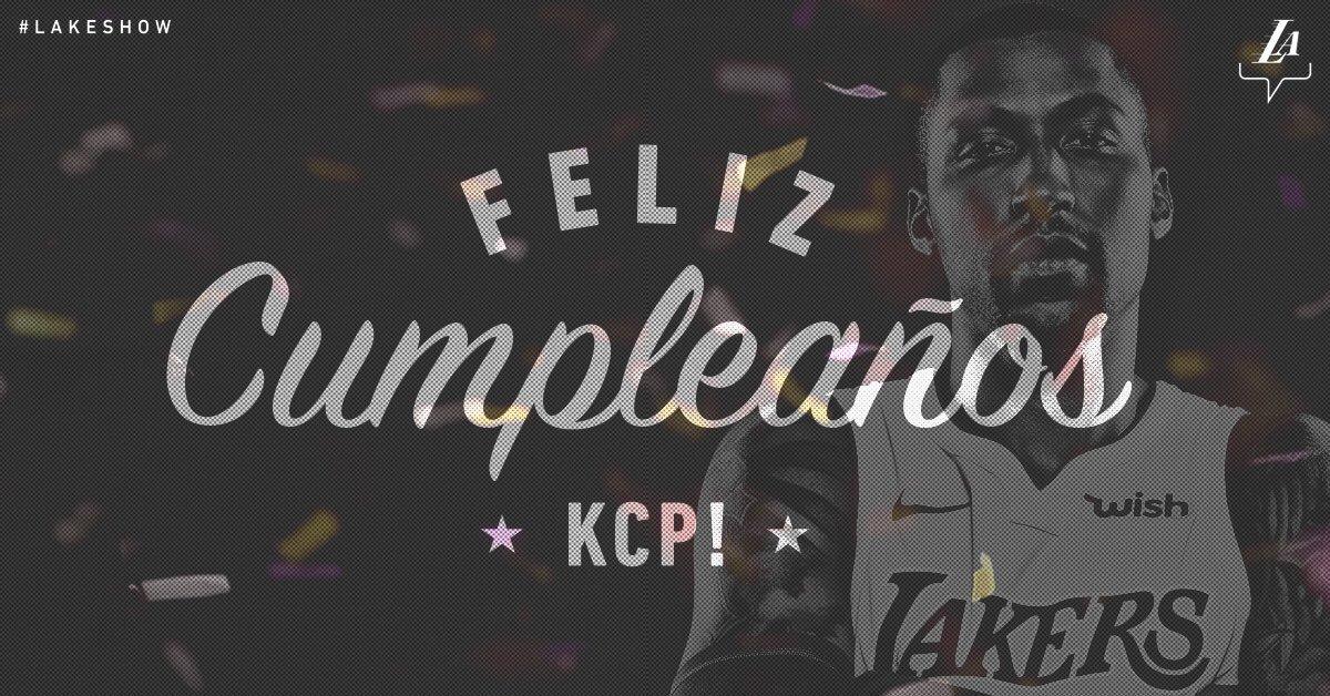 ¡Feliz cumpleaños, @CaldwellPope!