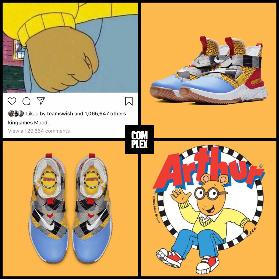 aded4fe6977 the lebron soldier flyease is getting an arthur meme colorway