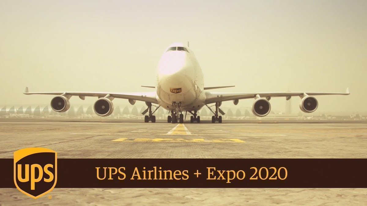 .@UPS is connecting global communities at @expo2020dubai (video):  https://buff.ly/2zidwd7 via @YouTube : @UPSAirlines