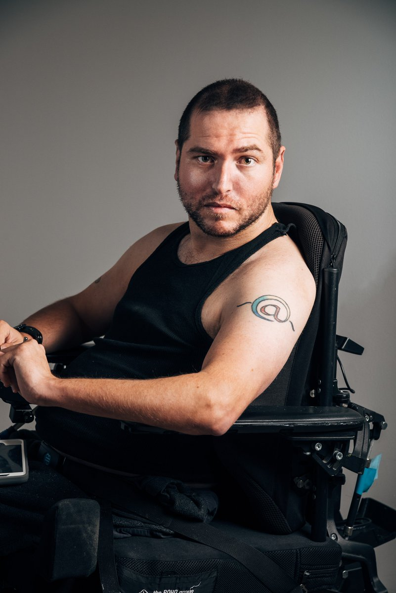 """To all the people questioning why I chose #DisabledPeopleAreHot rather than something else, like """"Nice"""" or """"Good""""?  Because disabled people are so often desexualized and removed from the """"hot"""" category automatically. I refuse to be."""