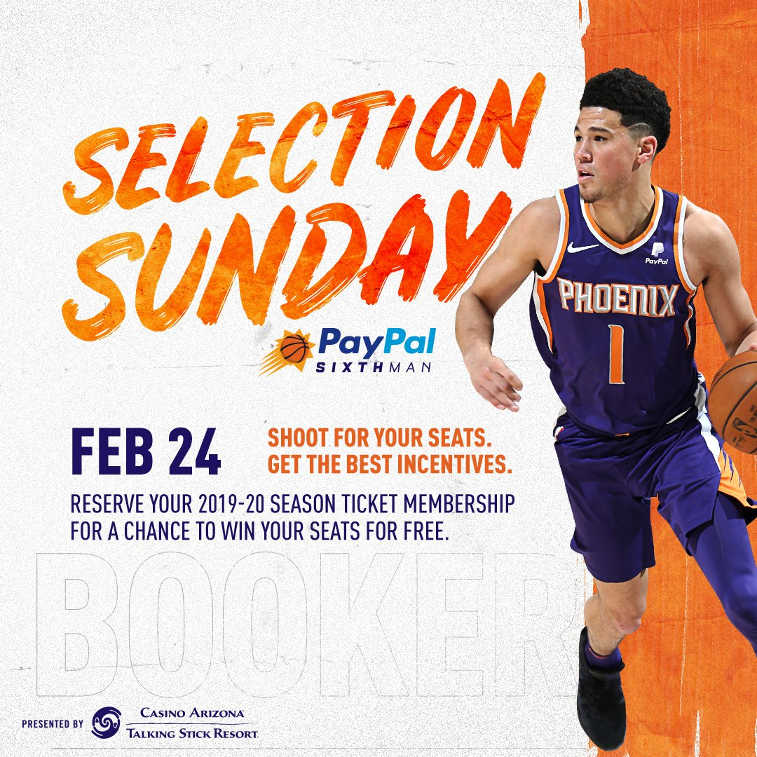 RSVP now to select your seats for the 2019-20 season and for your chance to win two FREE PayPal SixthMan Season Ticket Memberships.   👉 https://on.nba.com/2BjHk7N
