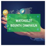 Image for the Tweet beginning: The WatchUGot Bounty Campaign is