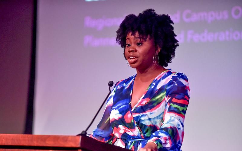 'Standing with Black women means trusting our leadership.'  Meet Monica Massamba, just one of the many Black women who power Planned Parenthood — and read, in her own words, what it means to #StandWithBlackWomen:  https://t.co/U2Wi6uJUqa