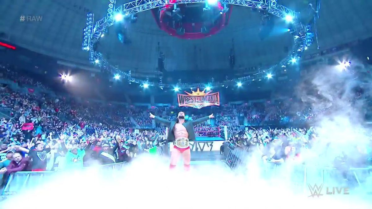 The new #ICChampion is here! @FinnBalor #Raw