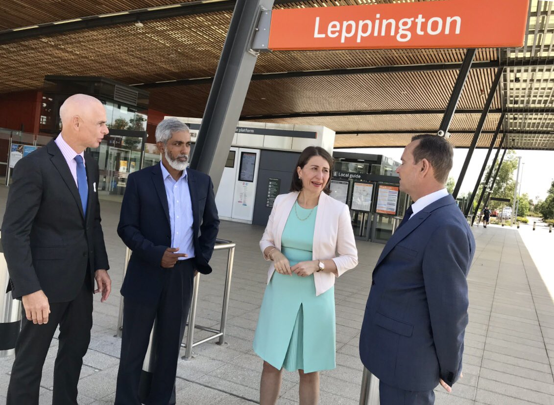 Locals in Leppington will benefit from 350 extra car spaces at the train🚆station— this is in addition to the recent commitment of an extra 700 spaces at neighbouring Edmondson Park station.