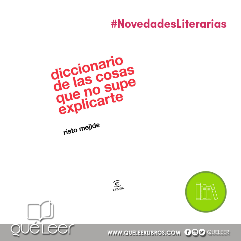 Quéleer On Twitter Novedadesliterarias Diccionario De
