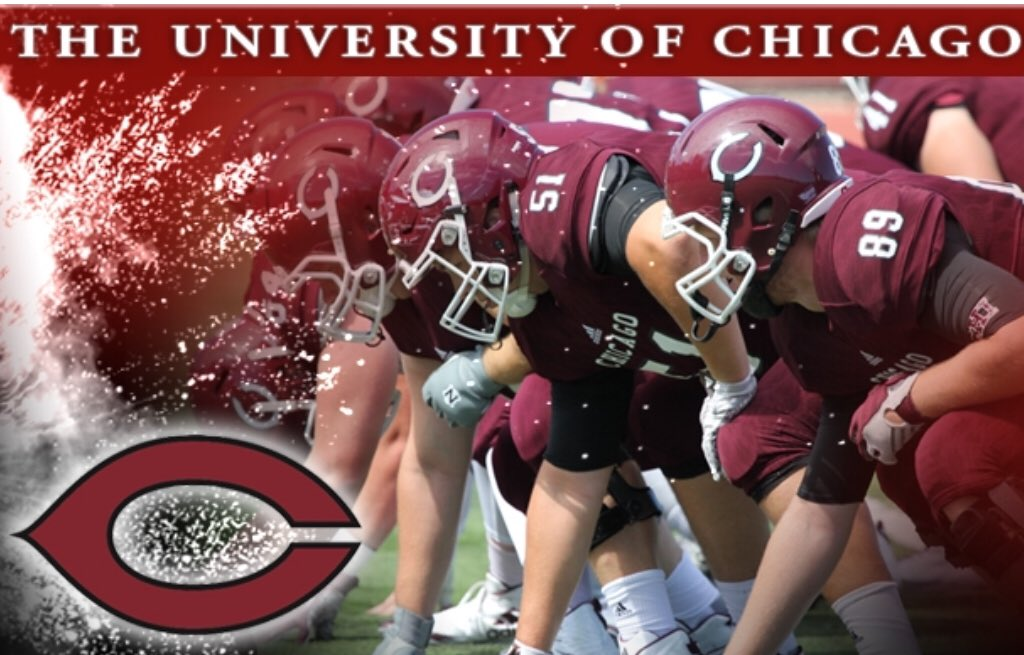 Thank you to the @UChicagoFB and @Coach_Cutty for the Prospect Camp Invite!! Looking forward to competing! @SATXrecruiting @MyRecruitBoard @varsitystarz @VarsityStarzEnt @EzBrawnRecruits