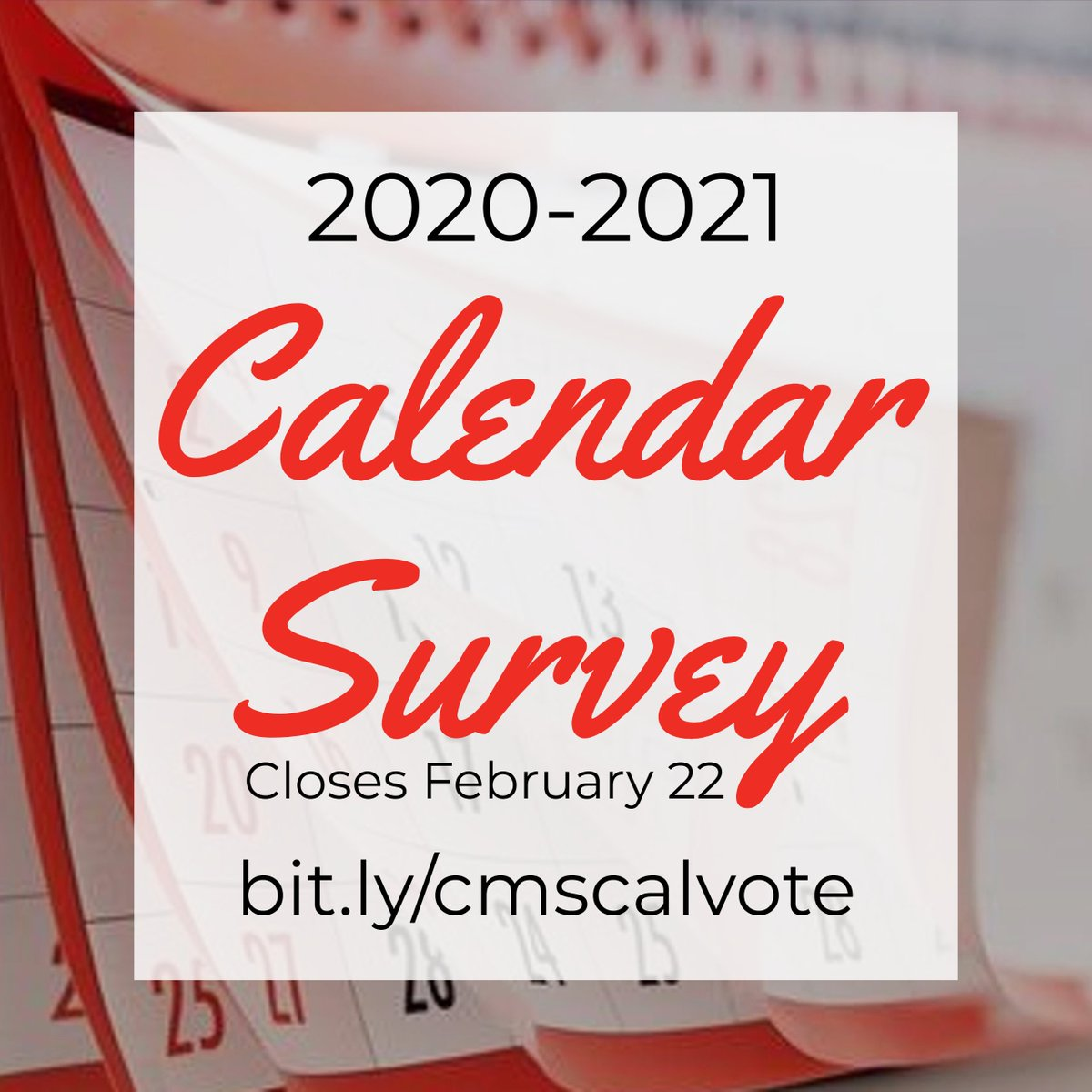 Cms Calendar 2020-21 CMS on Twitter: