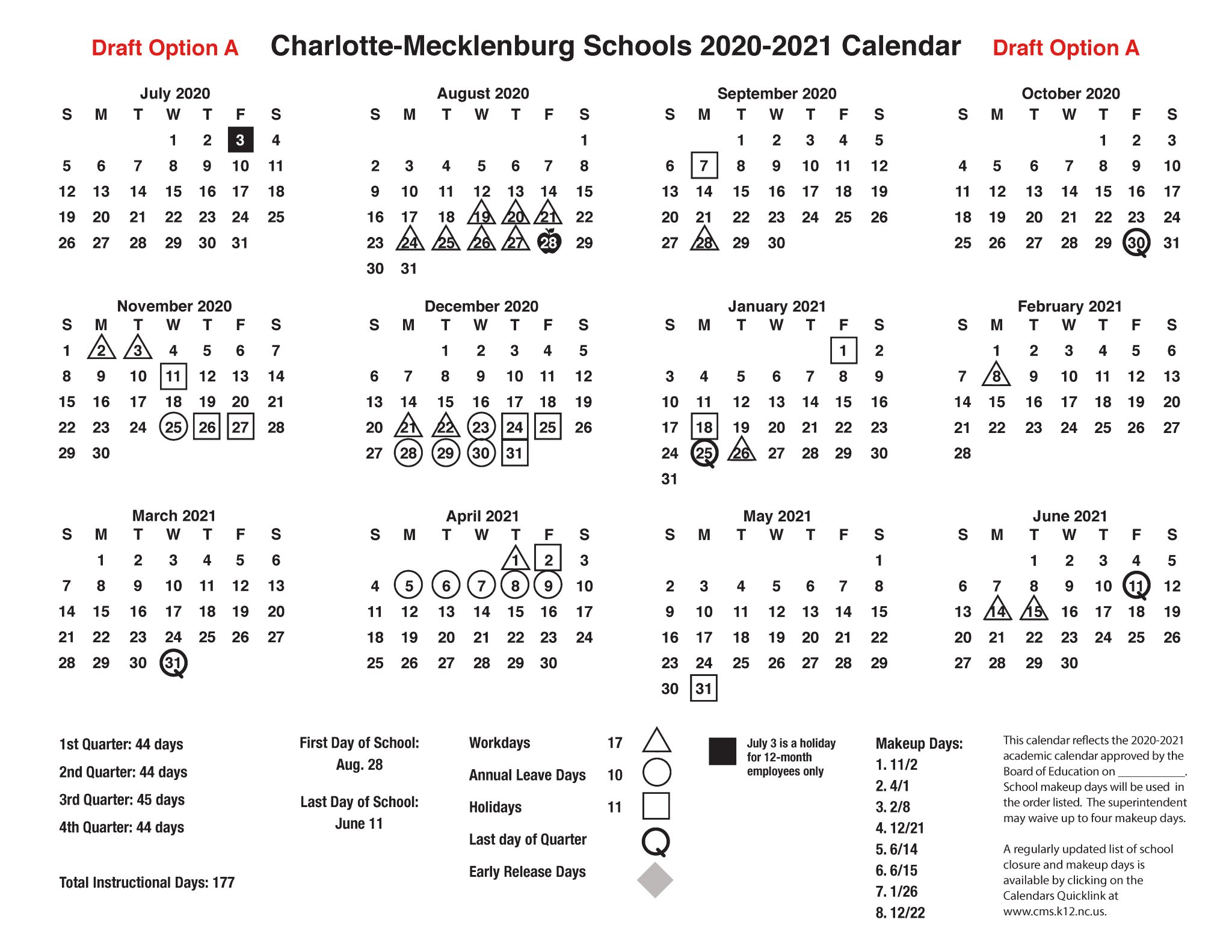 Cms Calendar 2022 2023.Cms On Twitter We Invite You To Vote For Your Preferred Calendar For The 2020 2021 School Year The Cms Calendar Committee Has Developed Two Options Vote For Your Preference At Https T Co O2gkzn3olp Cmssupt