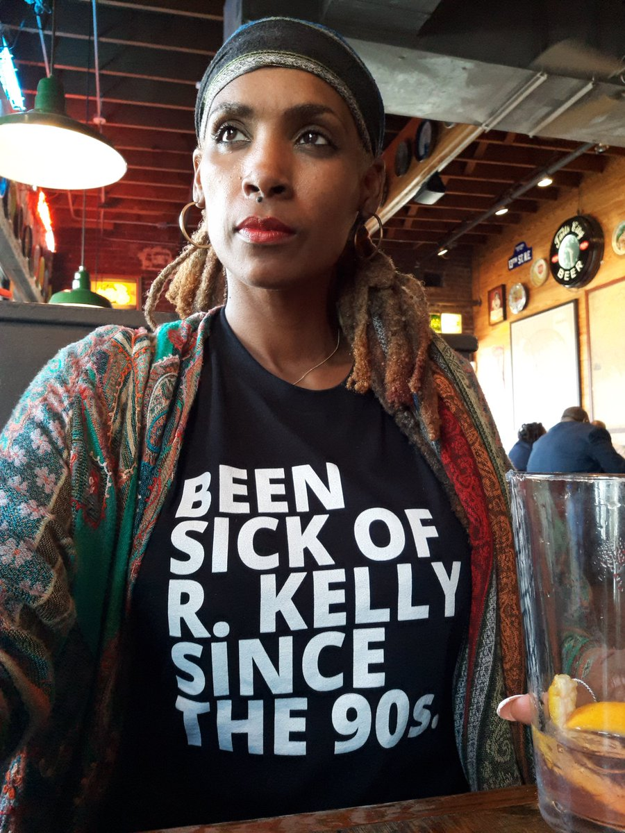 Yup. This ain't new.  S/O to @skoolwerkapparel for gifting me this dope shirt.  Thank you for supporting this work.  #MuteRKelly #IndictRKelly #blackgirlsmatter #survivingrkelly #RKellyStummschalten #metoomovement