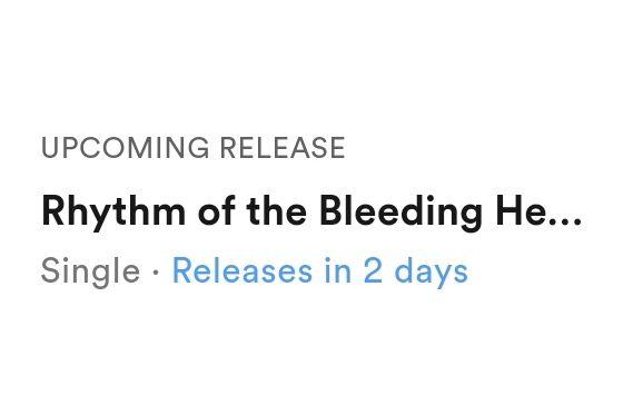 New Single Coming Soon