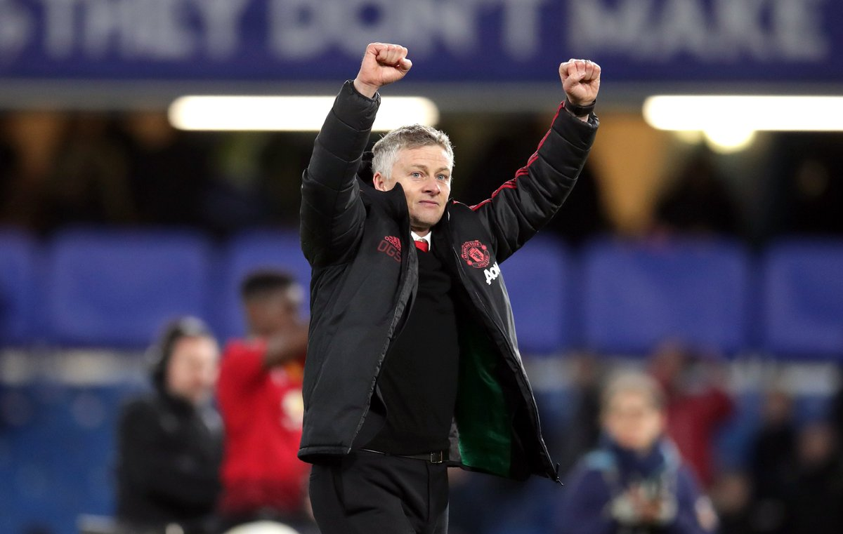 13 games 11 wins 30 goals scored 9 goals conceded  Ole Gunnar Solskjær is the miracle #mufc needed.