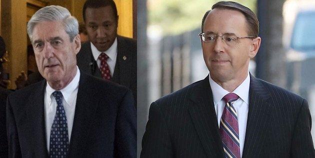 Robert Mueller was Rod Rosenstein's wire.