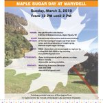 Image for the Tweet beginning: Maple Sugar Day at Marydell
