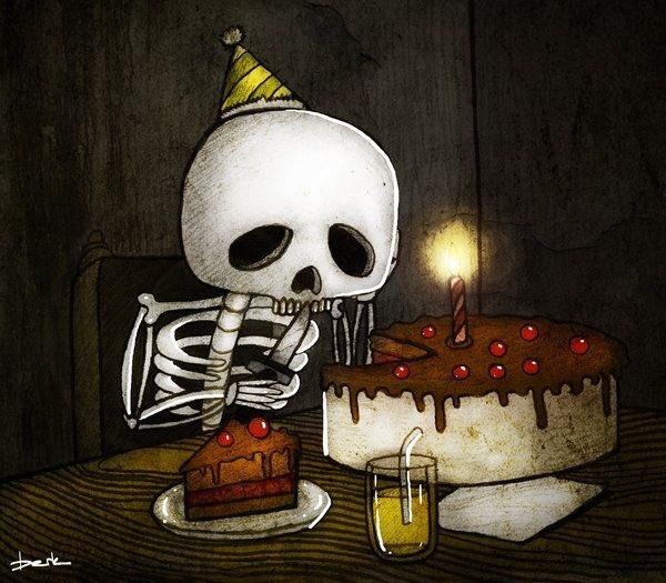 Страшная картинка с днем рождения