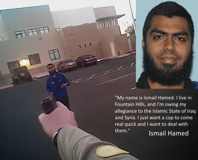 Video Shows Moment ISIS Suspect Is Shot After Throwing Rocks at Arizona Police Officer - https://breaking911.com/video-shows-moment-isis-suspect-is-shot-after-throwing-rocks-at-arizona-police-officer/…