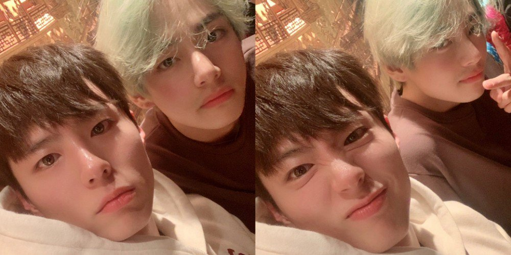 BTS' V and Park Bo Gum show off their unchanging friendship https://t.co/LE23N1TmxQ