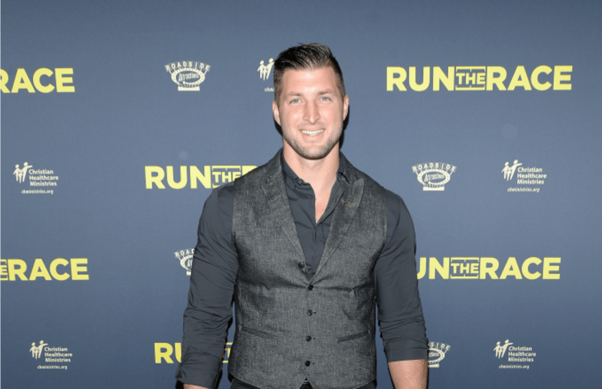 Watch Tim Tebow deliver an inspirational response to his critics. https://trib.al/654Zljy