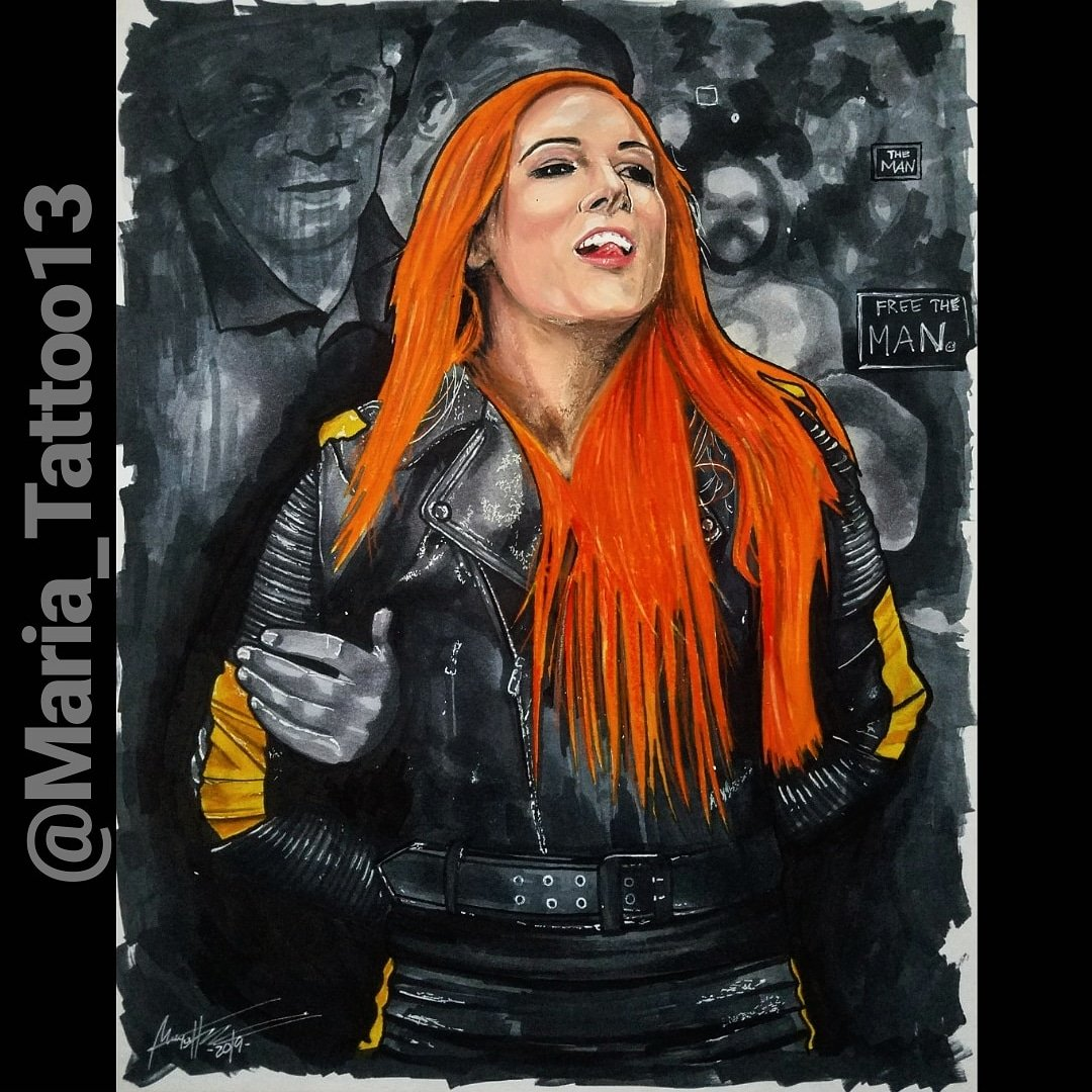 Maria Tattoo💀's photo on #wwechamber
