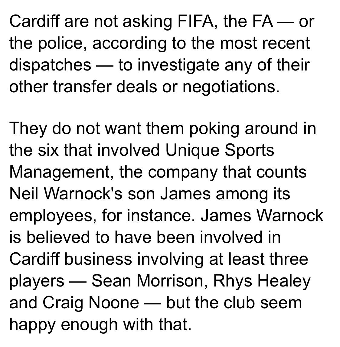 Difficult read this... what is going on at Cardiff 🤦🏻‍♂️ Absolute Mess! #CCFC    https://mol.im/a/6718009