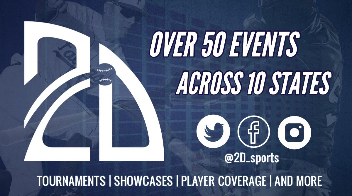 🚨http://Play.2Dsports.org🚨  Summer 2019 Events ⚾️Baseball Provided 🏟College Venues 📱Player Coverage  Play The Game #play2D