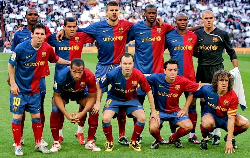 Il fut un temps au Barça 🔥😍