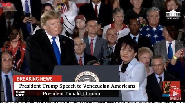 Trump VZLA's photo on Marlène