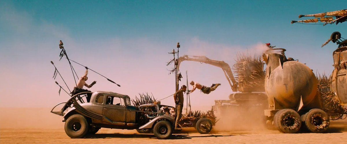 MAD MAX: FURY ROAD (2015)   Cinematography by John Seale Directed by George Miller Buy, rent or stream via @amazon: https://t.co/SVCx5W2KH8