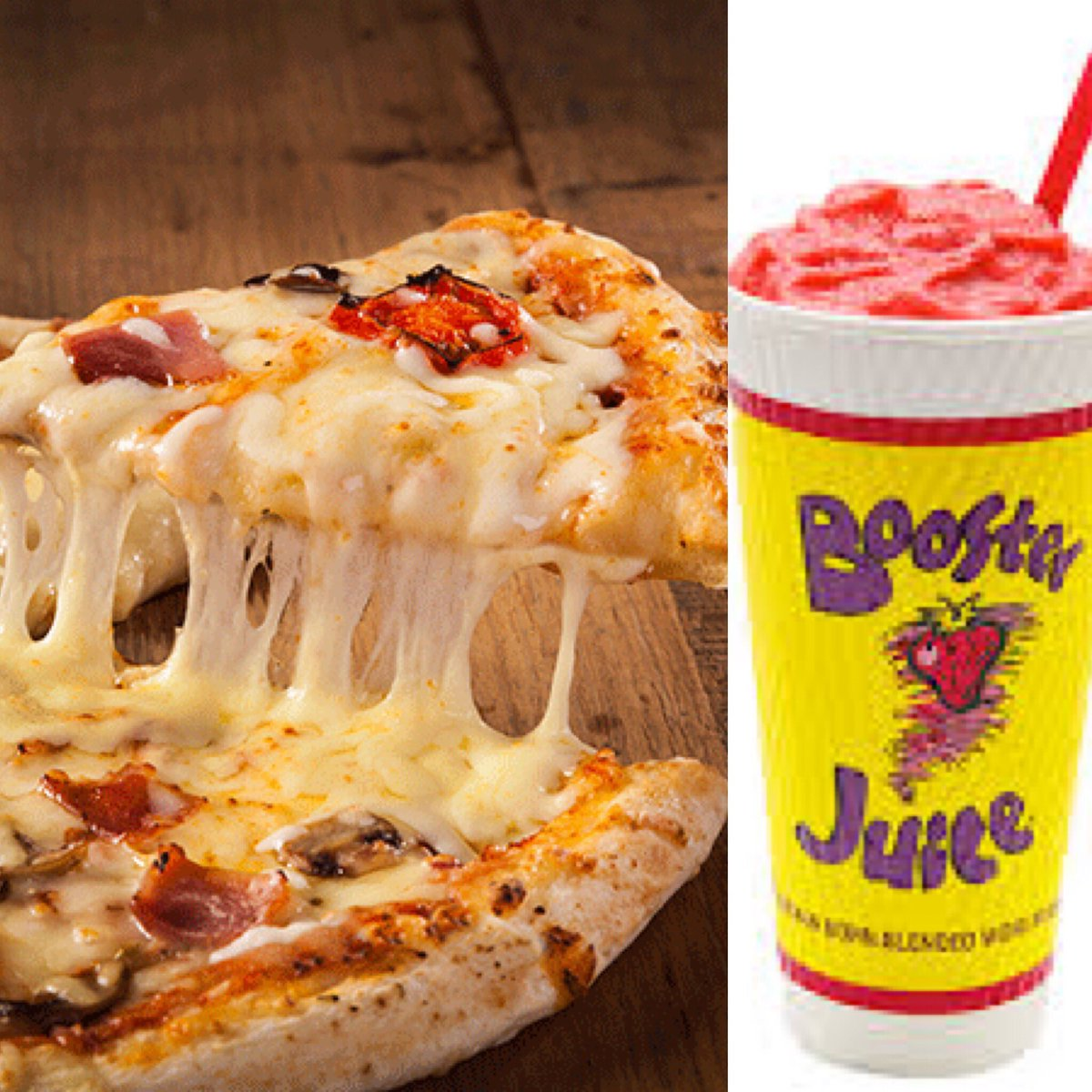 Hot Lunch-Pizza/Booster Juice Combo Day on Wednesday, Feb  27  Last