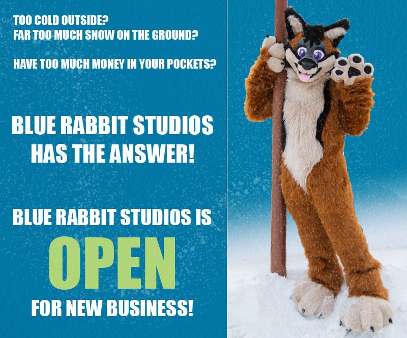 Hey Fluffs!  We&#39;re filling out the rest of our 2019 fursuit commission list and are open for a few more orders!    http:// blue-rabbit-studios.com/quote/  &nbsp;     #fursuitmaker <br>http://pic.twitter.com/qquE6sOcME