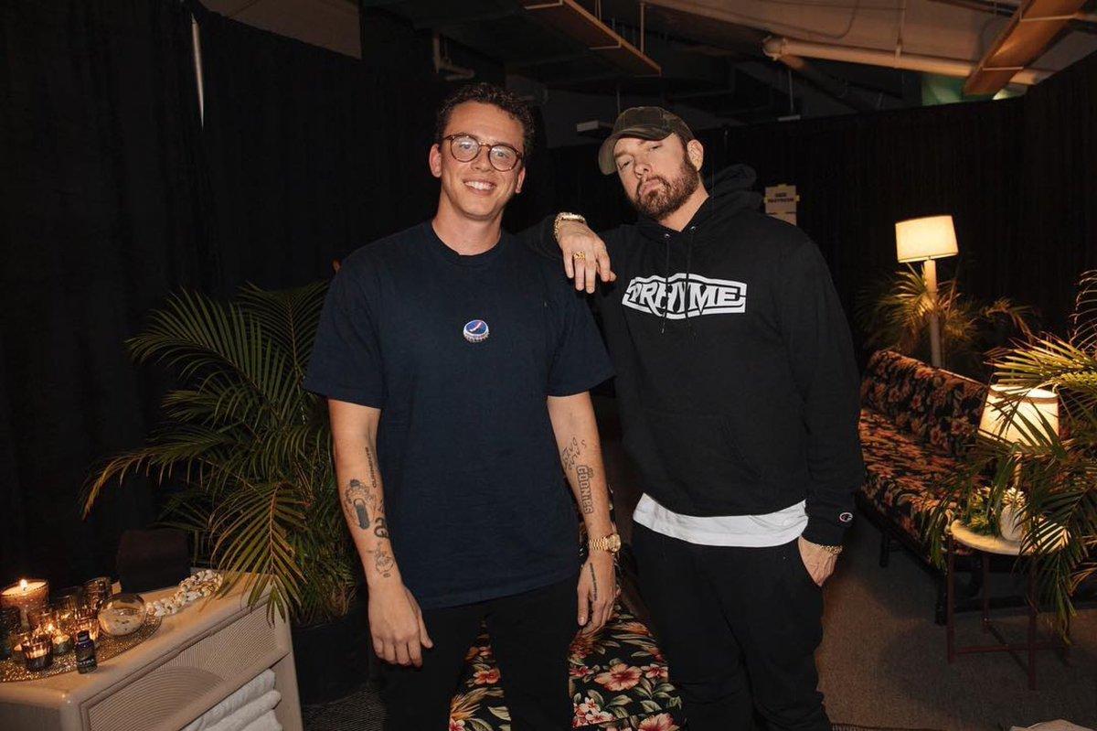 .@Logic301 x @Eminem 🔥