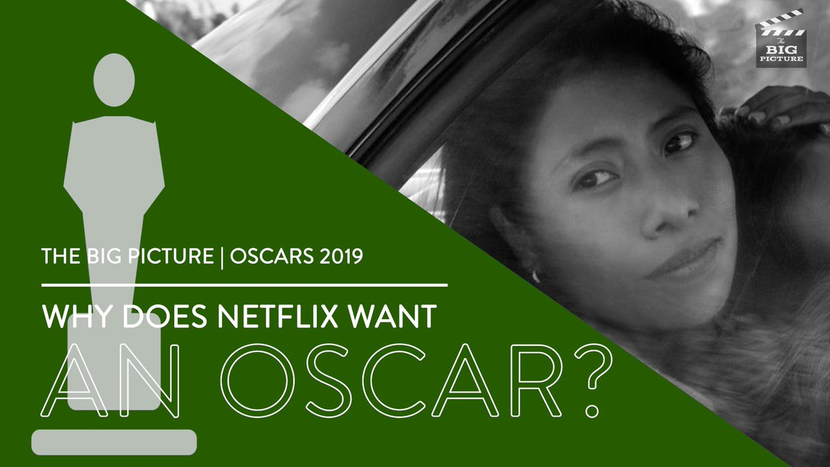 We broke down the Oscars from lots of different angles in our roundtable video preview. Today's topic: Why exactly does Netflix want an Oscar?