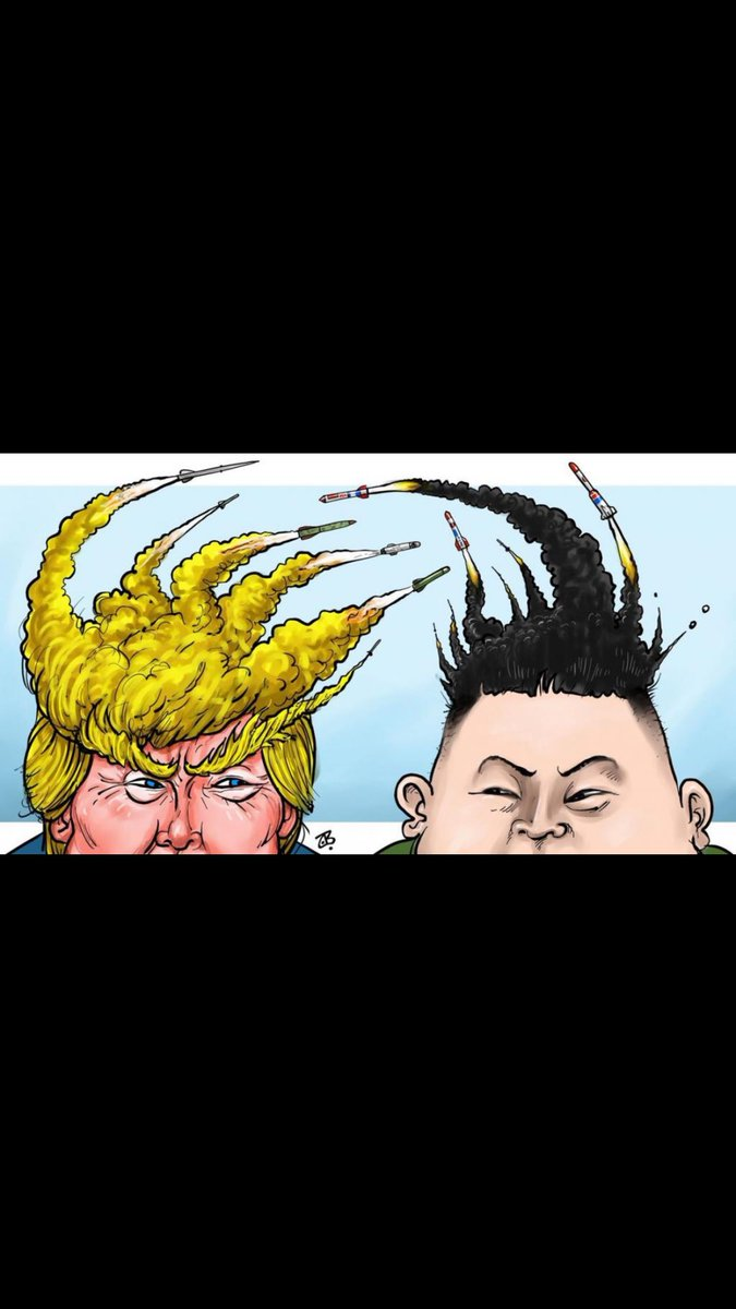 You are the only one that tried to start a war with North Korea, not PresO. By the way #KimJongUn has already OUT smarted u. #KimJongUn won @POTUS @WhiteHouse